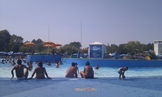 Cesenatico, Italien: piscina centrale