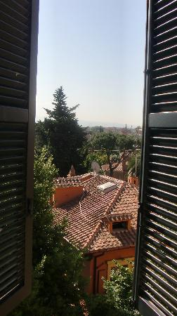 Hotel San Anselmo: view from our room
