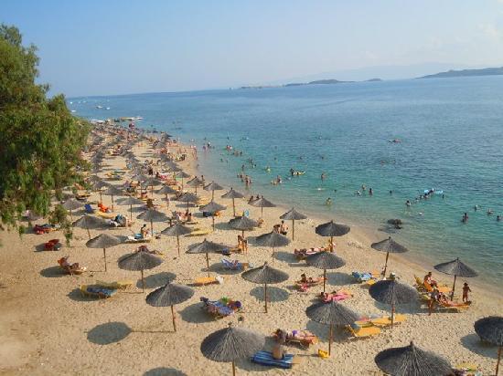 Akrathos Beach Hotel: Akrathos beach, wonderful