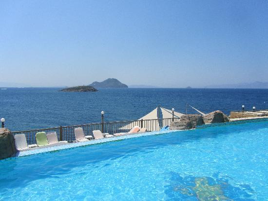 Kadikale Resort : infinity pool