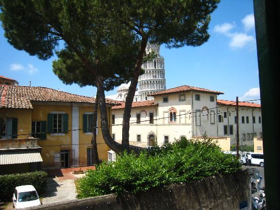 Hotel Villa Kinzica: vue de la fenêtre de la chambre