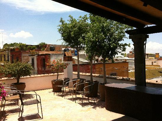 Terraza Casa De Los Olivos San Miguel De Allende Gto