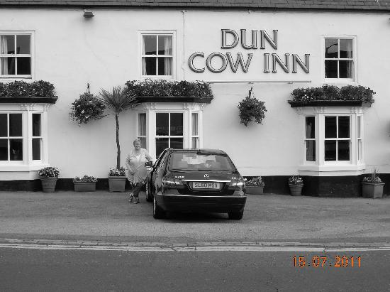 The Dun Cow Inn: Sad to leave.