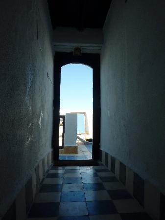 La maison des artistes: Accès terrasse