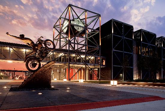 Commissioned by the davidson family the hillclimber for Motor harley davidson museum
