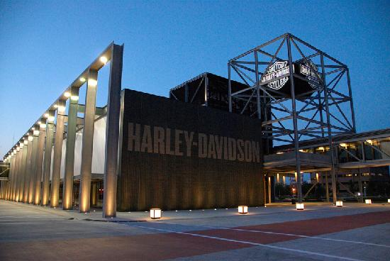 Set on 20 acres the museum campus includes a restaurant for Motor harley davidson museum