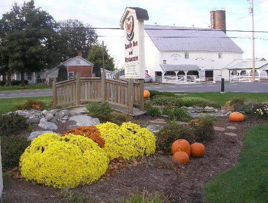 Bird-In-Hand Family Inn : Fall flowers