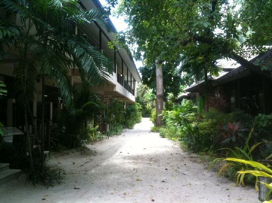 Chaweng Garden Beach Resort: Spiaggia Privata