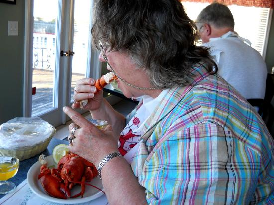 Lobster Kettle Restaurant: a hungry tourist