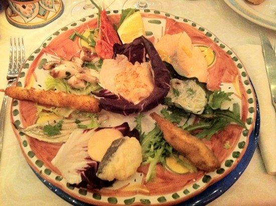 La Vela : Seafood starter