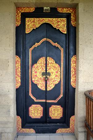 Bali Agung Village: Front door of my room