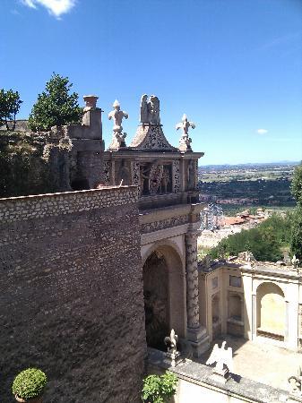 Villa d'Este: Fontana della civetta