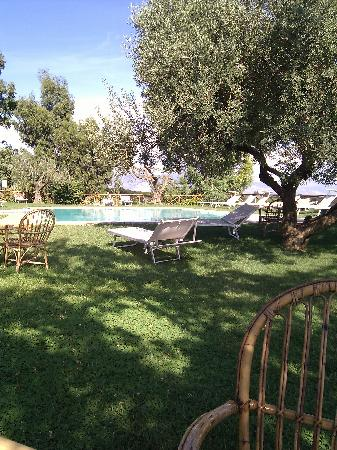 Velletri, Italien: By the pool