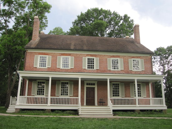 Locust Grove: View of the main house