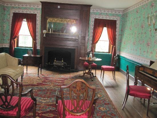 Locust Grove : Party room upstairs in the main house