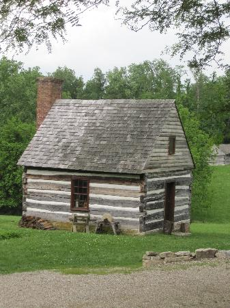 Locust Grove : View of the woodshop