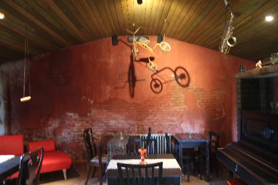 Colonia Valdense, Uruguay: The dining room