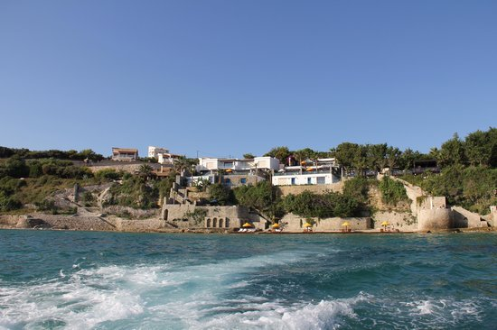 Porto Zante Villas & Spa: View of the resort from the sea