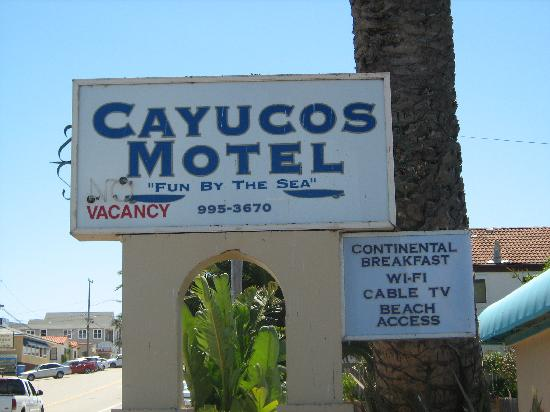 Cayucos Motel : We definitely had fun by the sea here!