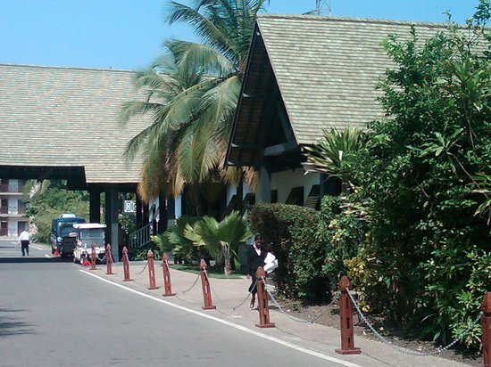The Akwaaba Restaurant : front