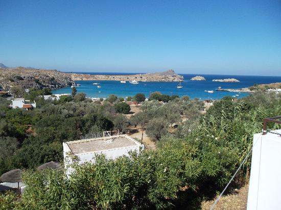 Afroditi Studios: View from the balcony