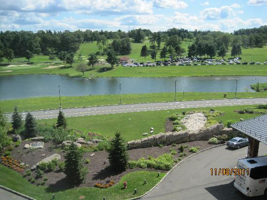 Mount Airy Casino Resort: View from room