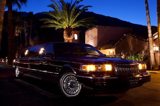 Hotel California: Complimentary Limousine Service