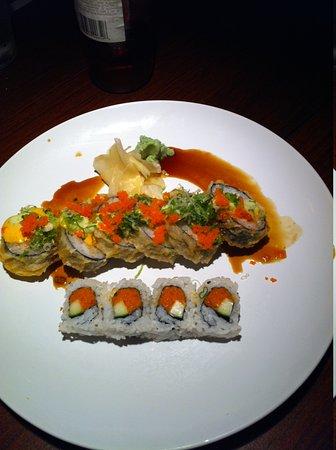 5 N 2 Tokyo: India and Spicy Tuna Rolls