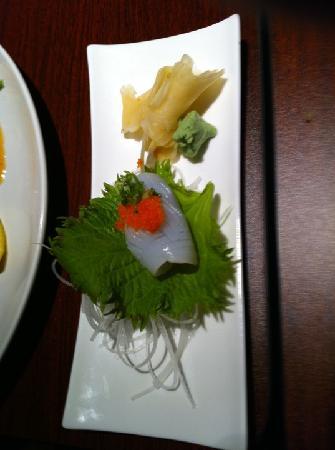 5 N 2 Tokyo: Eel with black seaweed