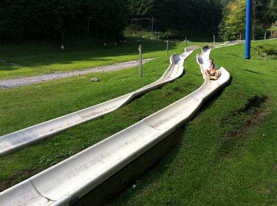 Hatfield & McCoy Dinner Show: alpine slide