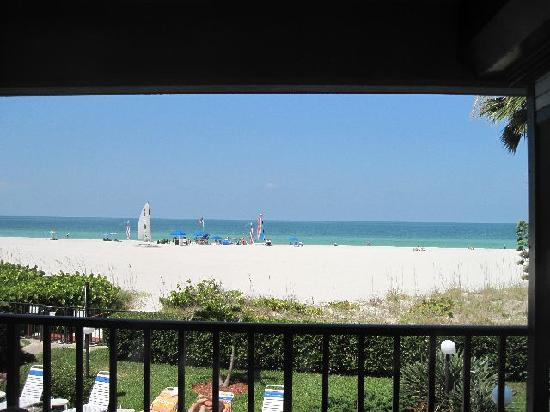 Gulf Beach Resort: View from the balcony