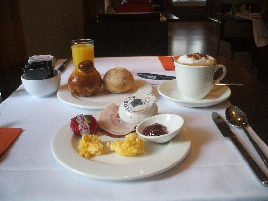 Lady's First Design Hotel: My choice of breakfast! Yummy!