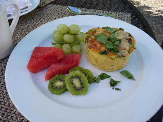 Chateau de Vie: Sun-dried Tomato and Artichoke Strata
