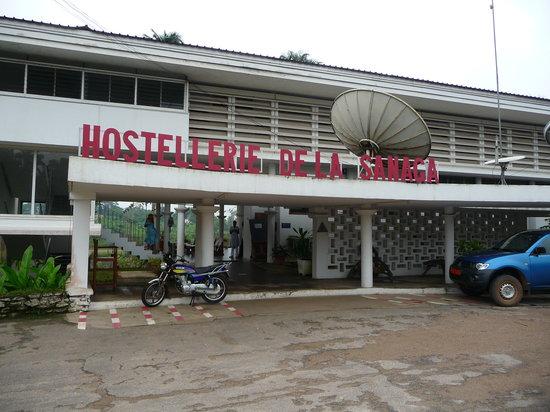 Edea, Cameroon: entrance area
