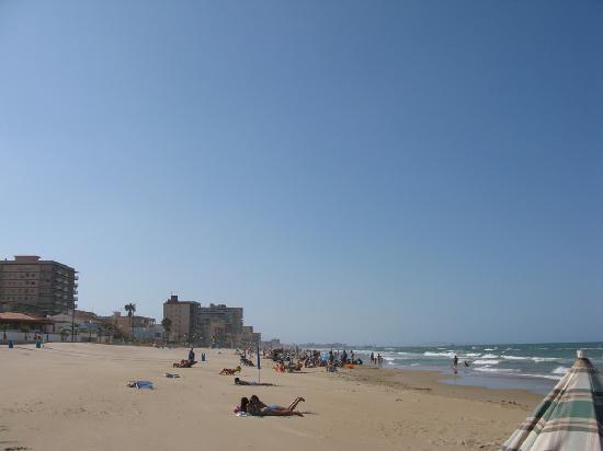 Playa Miramar: Beach