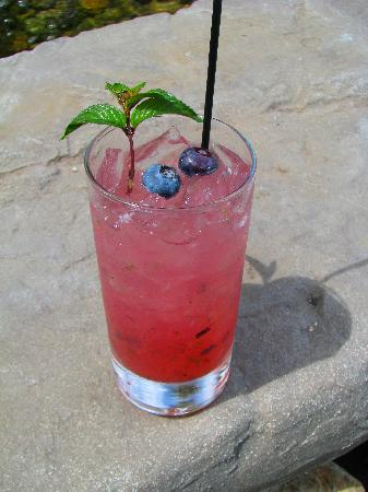 Walla Walla, WA: Fresh Blueberry Mojitos