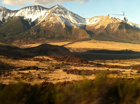 ‪TranzAlpine Sightseeing Tour - Orienz International Ltd‬