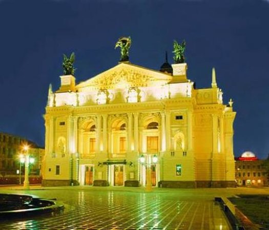 Active Lviv Tour: Lviv Opera Theater
