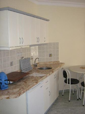 Ozlem 2 Apart Otel: kitchen
