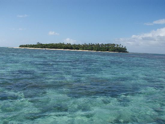 Approach to Fafa Island