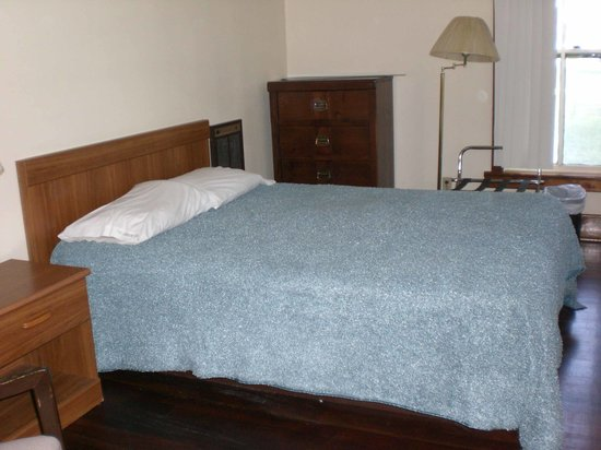 Crawford, NE: Main bedroom with double bed