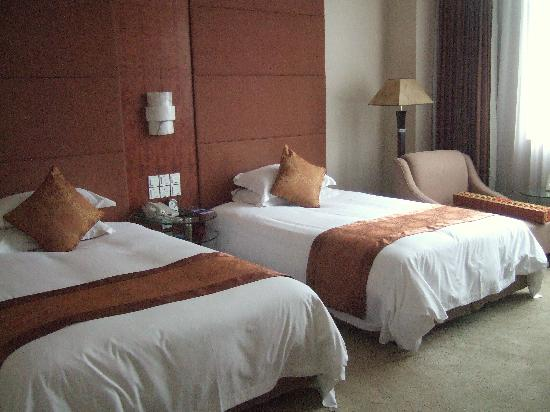 Broadway Mansions Hotel : Twin Room