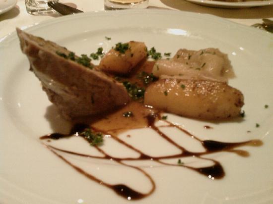 Hotel Alpenhof: Spezzatino con patate