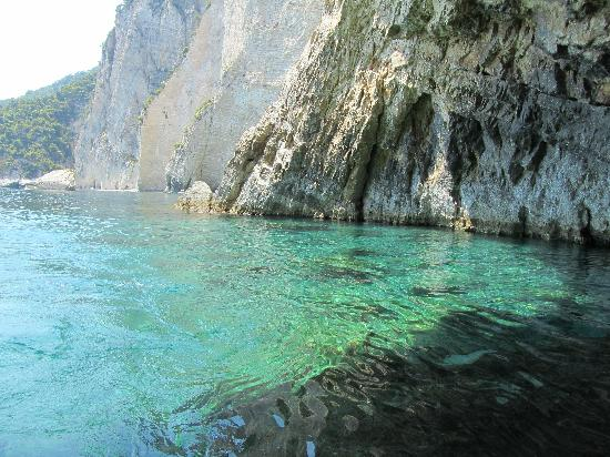 Holistic Heaven: blue caves on the boat trip
