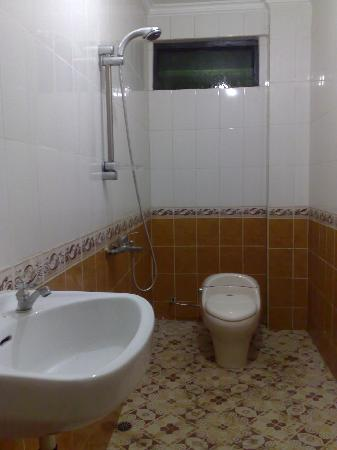 Flores Sare Hotel: Bathroom with shower
