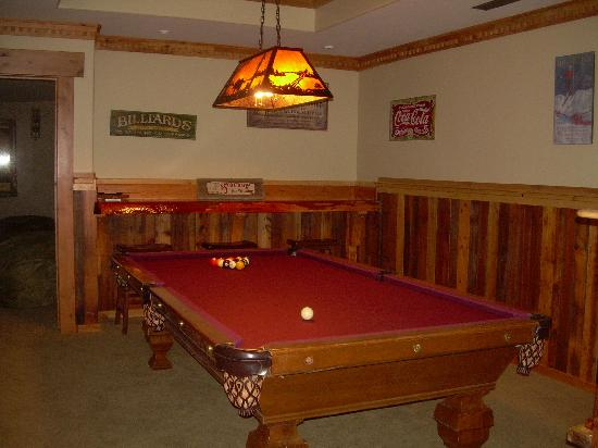 Lone Elk Lodge Bed & Breakfast: Game Area