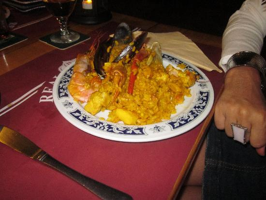 Real Playa : paella