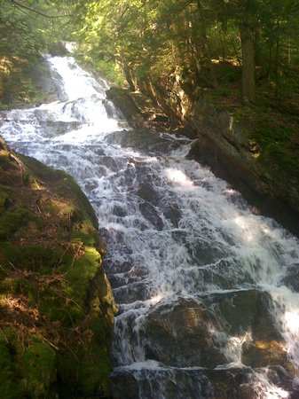Killington, VT: Thundering Falls, August 2011