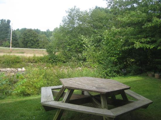 Hillwinds Lodge: Picnic tables available if you want