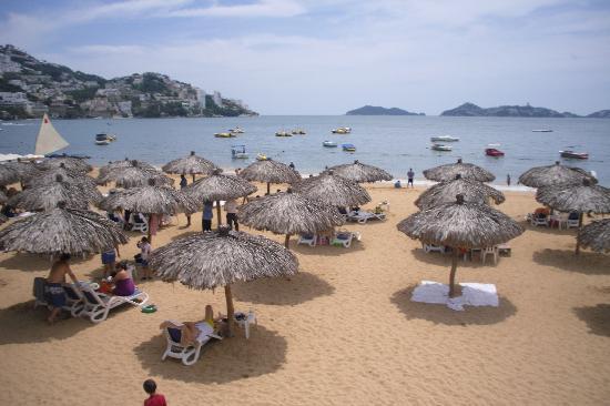 Grand Hotel Acapulco: la playa del hotel